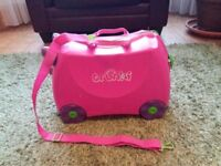 Trunki Ride-On-Suitcase Trixie Pink