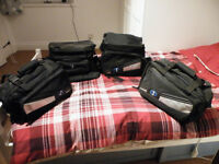 Oxford 1 Motorbike Motorcycle Heavy duty Panniers, Tail Bag & Tank Bag (as new)