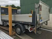 Citroen relay 2013 alloy drop side body 13 ft tail lift
