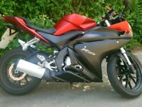 Yamaha YZF-R125 2015 RED ideal CBT bike