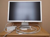 "Genuine Apple 23"" Cinema HD Display A1082 with Power Adapter"