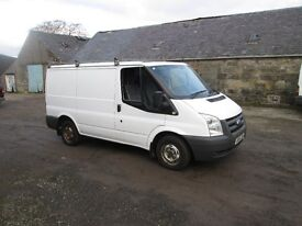 ford transit swb 61 plate low miles no vat may swap