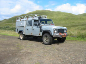 LAND ROVER DEFENDER 130 300TDI SPARES OR REPAIR