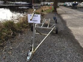 Launching trailer for 22- 24ft keel boat
