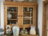 Antique heavy pine welsh dresser free to good home collection asap please
