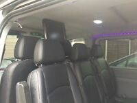 Mercedes Vito Xlwb elec doors in car dvds serviced every 10 thou miles need low floor disabled acess