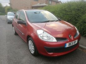 2007 Renault Clio 1.6 Expression Auto 5dr, Only 73000 miles, Full Service History, May 2019 MOT!