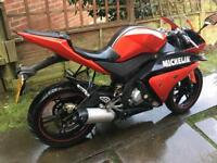 Yzf Yamaha R125 sports R6 body replica