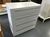Atlas 4 Drawer Chest Of Drawers - White