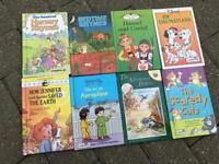 8 hardback kids books