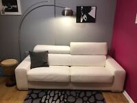 DFS leather sofa bed - 4 seater - great condition - bargain!
