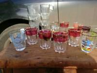 Joblot shot glasses