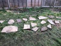 Free concrete slaps - was garden path