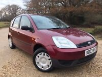 Ford Fiesta NEW MOT no advisories Superb Service History 2 former owners Serviced less than 2k ago