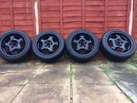 E36 m3 bmw alloys 225 45 17 328 325 318 coupe convertible.