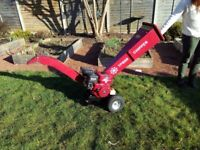 Superb 208cc 7hp mini chipper in excellent condition