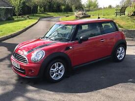 2012 Mini 1.6 One 3dr Not Cooper