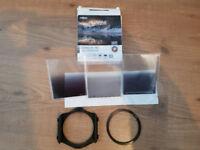 Cokin Gradual ND Filter Kit & Hoya Polarizing Filter 77mm