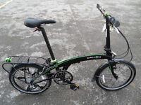 Dahon QIX D8 Brand New Quality Folding Bike With Vertical Folding Technology