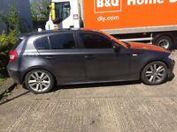 Dark Grey BMW 1Series 2.0L Diesel for Sale ASAP!