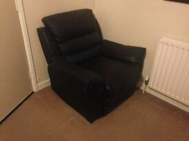 Recliner Armchair for sale, barely used BARGAIN £80.00