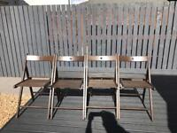 Ikea Terje chairs, set of 4 chairs