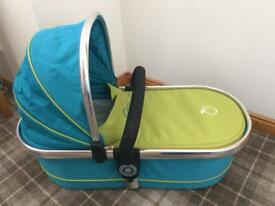 Icandy peach carrycot sweetpea