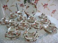 36 Piece Imari Tea Set by R & D