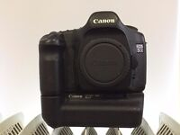 Canon EOS 5D MKI + Battery Grip + AC Adapter