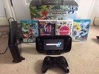 Nintendo Wii U 32GB Mario Kart 8 Premium + 3 Extra Games And Control Pad
