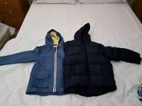 2 boys 3-4 coats