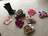Girls designer shoes bundle sizes 19/3-21/5