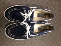 Polo by Ralph Lauren boat shoes. Size 7