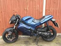 70cc gilera DNA reg as 50cc moped scooter Vespa Honda Yamaha