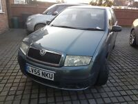 Skoda Fabia 1.4 Saloon, Manual.