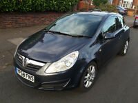 Vauxhall Corsa Club A/C CDTI 3 Door Hatchback 2008 Diesel £30 A Year Roadtax CHEAP TAX Bargain