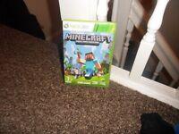 Minecraft xbox 360 edition game.