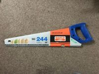 New and Unused BAHCO 244 Handsaw