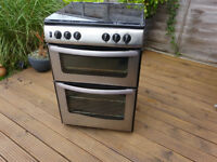 Gas Cooker 60cm Freestanding Stailess steel Stoves New World G60DT