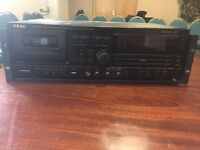 TEAC AD-600 3 CD Player and Cassette Deck