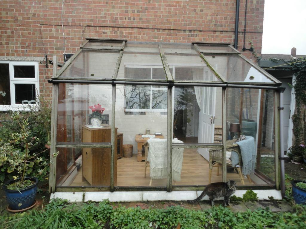 Lean to greenhouse conservatory garden room united for Garden room lean to