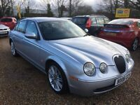 2006 JAGUAR S TYPE 2.7 D V6 SPORT AUTO SALOON 4DR SILVER TOUCH SCREEN SAT NAV