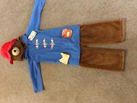 Paddington bear outfit 5-6 yrs