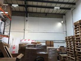 shared warehouse space to let short-term long-term