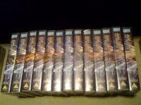 Star Trek Deep Space Nine on Video VHS Complete Seasons 4, 5, 6 and 7