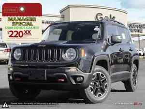 2016 Jeep Renegade TRAILHAWK 4X4 DEMO   BACK UP CAM NAV 6.5TOUCH