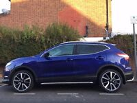 bargain!!! 65 plate new shape NISSAN QASHQAI TEKNA-TOP OF THE RANGE
