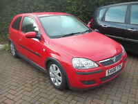 2006 06 CORSA SXI PLUS GREAT SPEC HALF LEATHER ALLOYS AIR CON LOW MILAGE NEW MOT FSH ONLY £1295