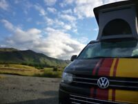VW T5 2.0 Bitdi Luxury Campervan, 209bhp, NWCC Deluxe Conversion, 4 / Travelling Seats