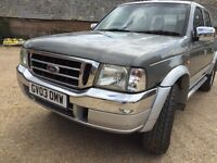 Ford Ranger only 103500 miles, MOT until April 2017 Includes mountain too